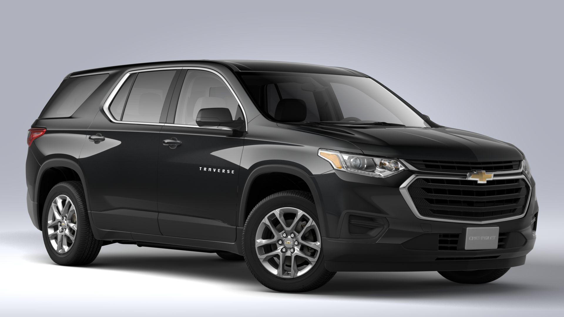 New 2020 Chevrolet Traverse LS AWD SUV
