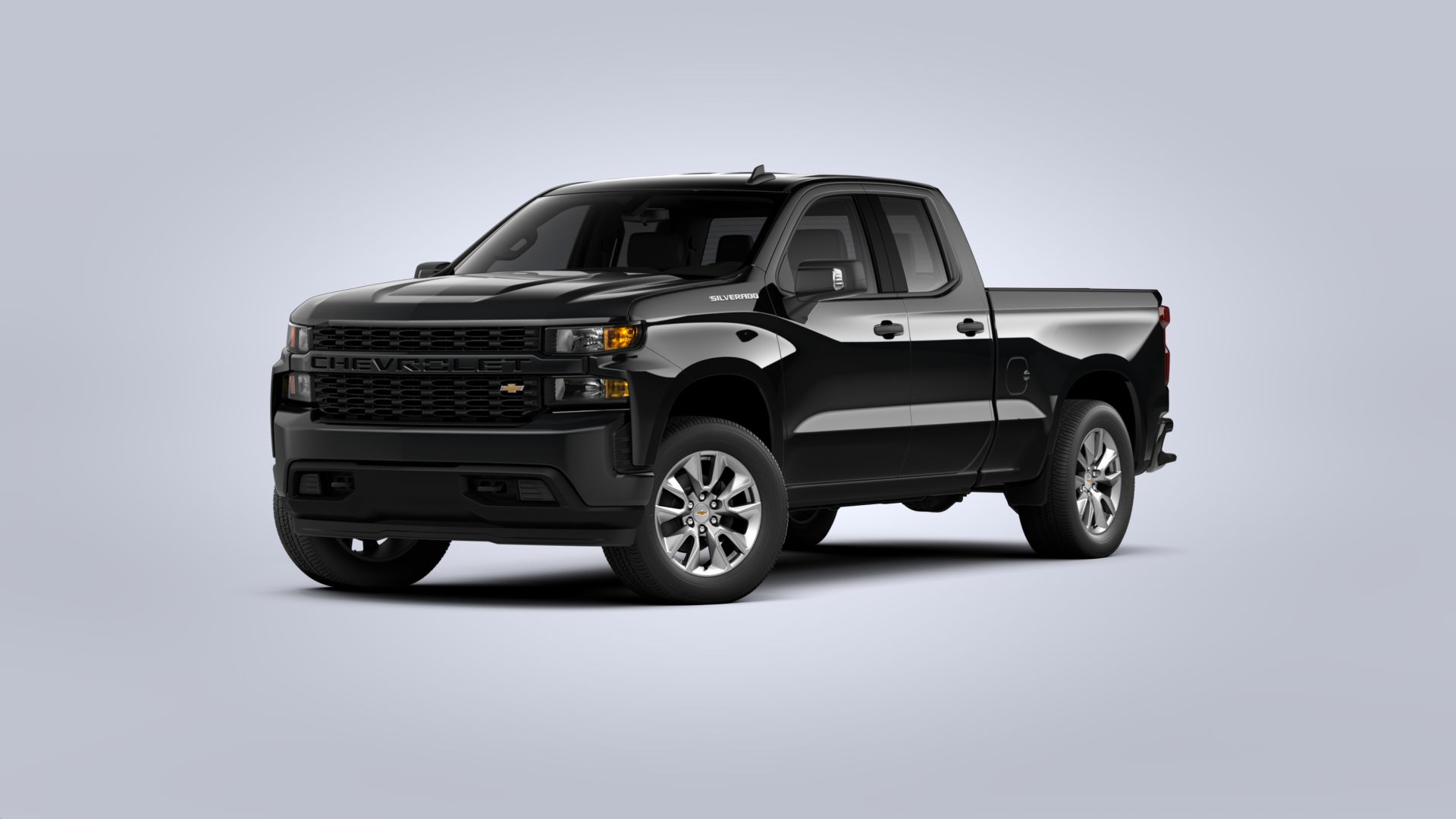 New 2020 Chevrolet Silverado 1500 Custom REAR WHEEL DRIVE Double Cab