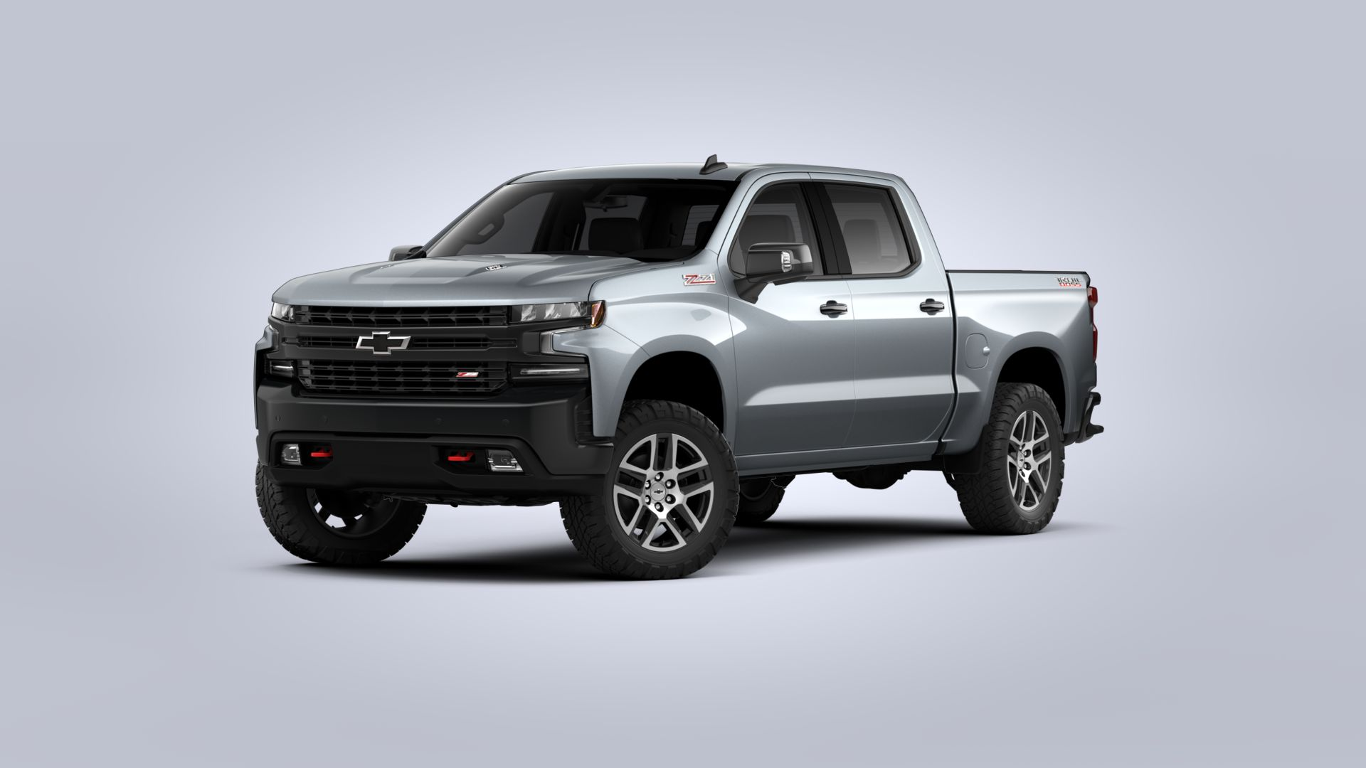 New 2020 Chevrolet Silverado 1500 LT Trail Boss FOUR WHEEL DRIVE Crew Cab