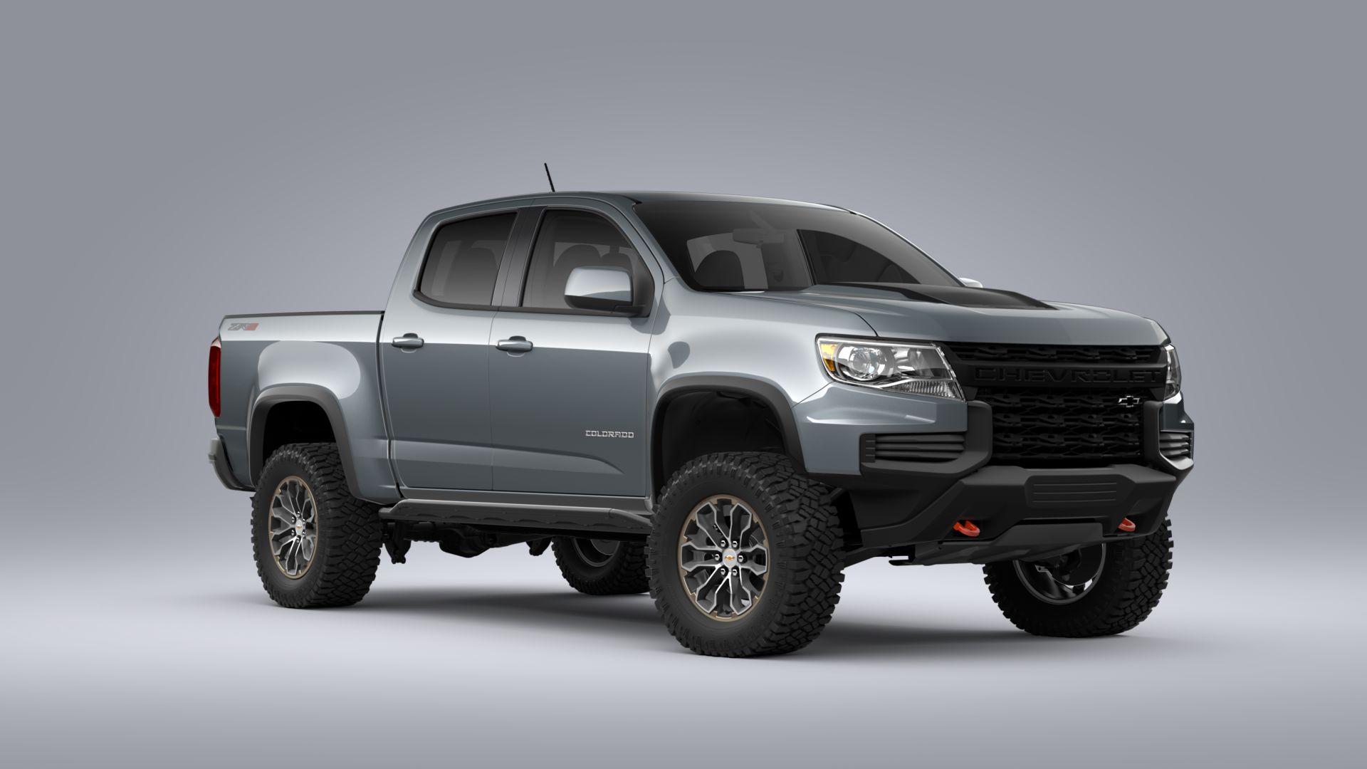 New 2021 Chevrolet Colorado ZR2 FOUR WHEEL DRIVE Crew Cab