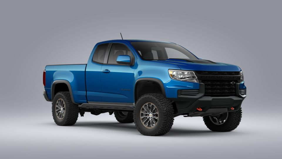 new 2021 chevrolet colorado zr2 extended cab in chesaning