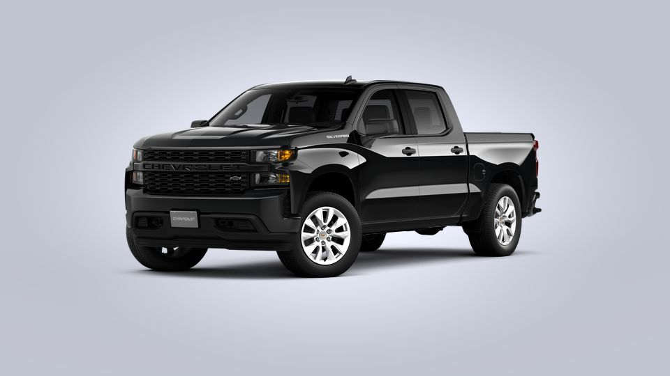 New 2021 Silverado 1500 Custom Crew Cab