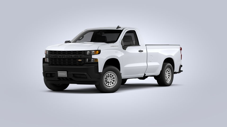 New 2021 Chevrolet Silverado 1500 WT Rear Wheel Drive Regular Cab