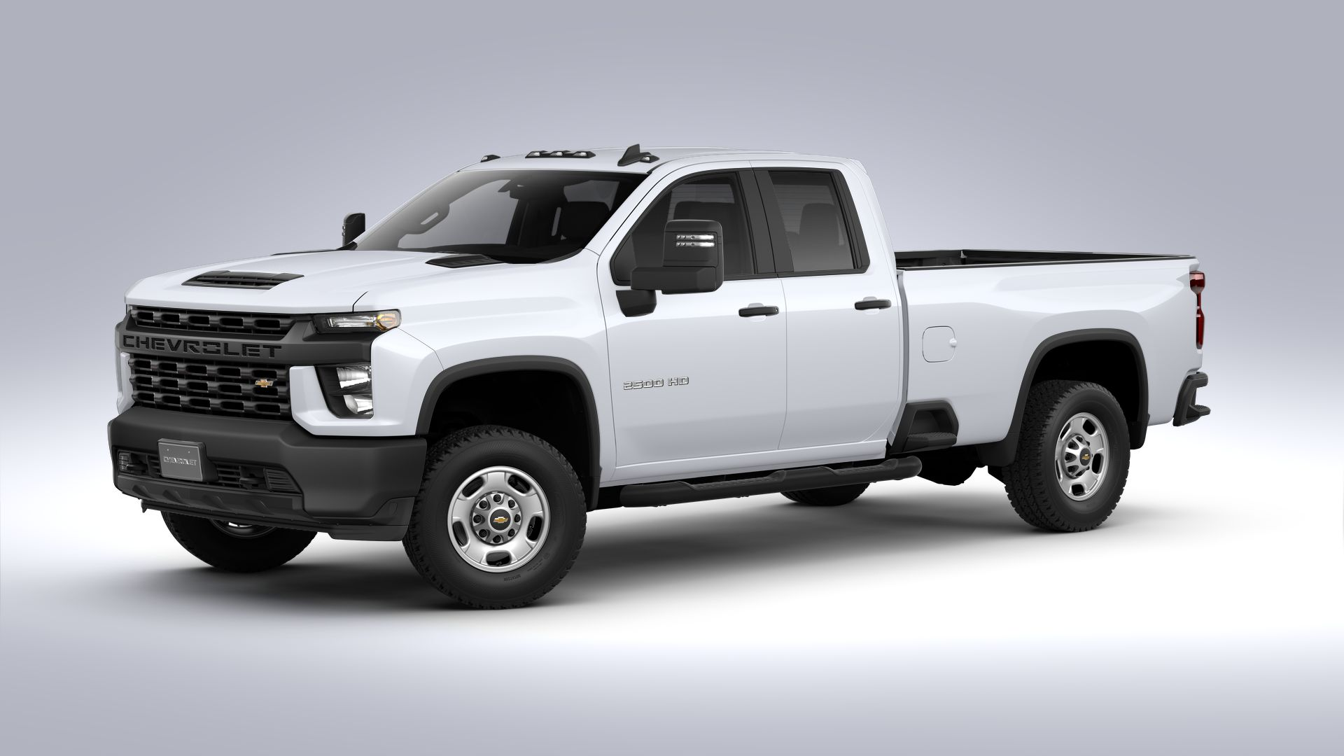 New 2021 Chevrolet Silverado 2500 HD WT REAR WHEEL DRIVE Extended Cab