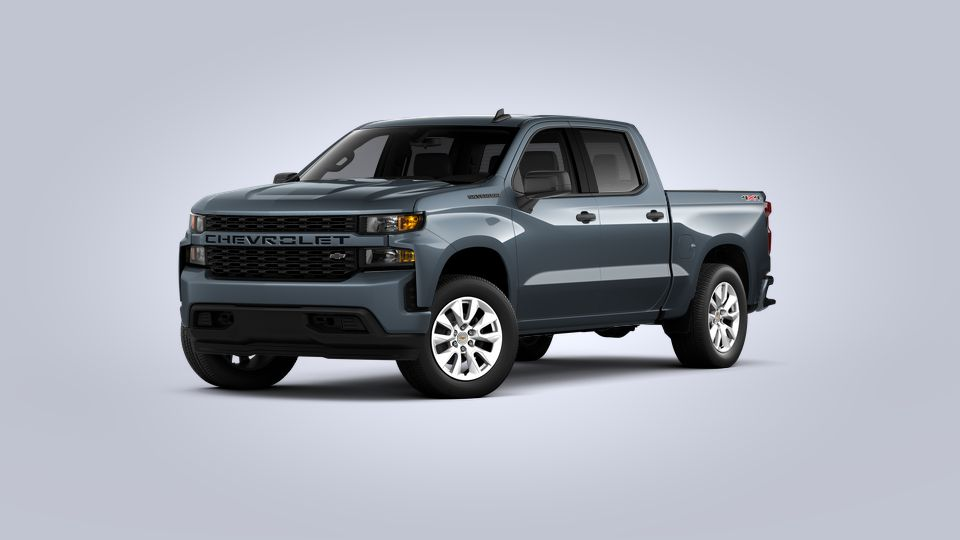 New 2021 Chevrolet Silverado 1500 Custom Four Wheel Drive Crew Cab