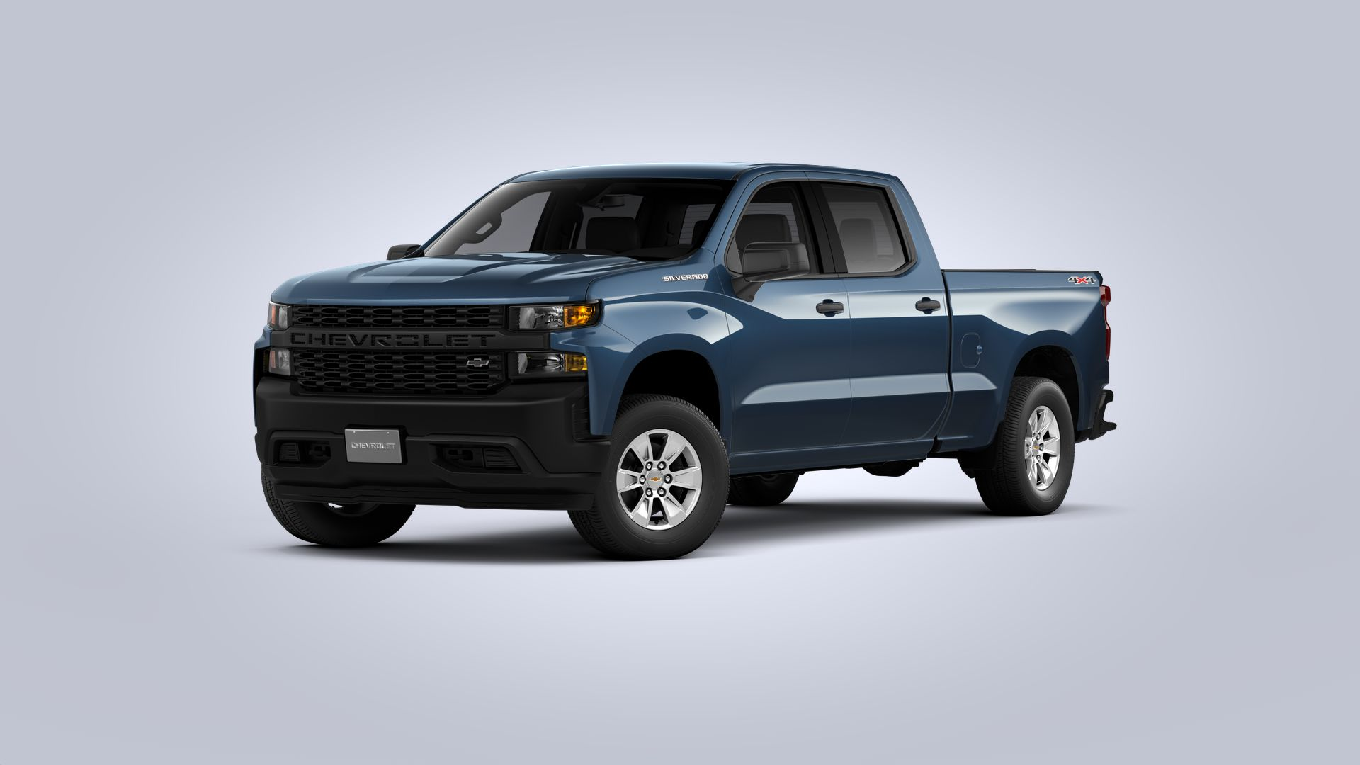New 2021 Chevrolet Silverado 1500 WT FOUR WHEEL DRIVE Crew Cab