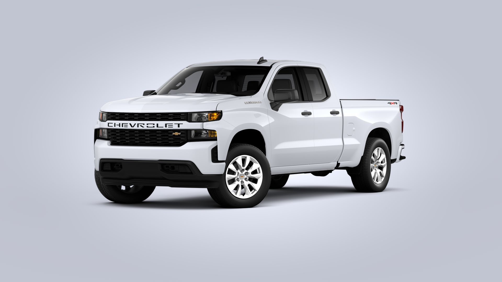 New 2021 Chevrolet Silverado 1500 Custom FOUR WHEEL DRIVE Double Cab